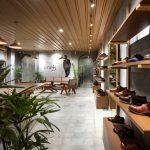 Лаконичный дизайн шоурума элитной обуви от Renesa