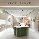 Проект магазина косметического бренда Beautysaur Organics в Гонконге